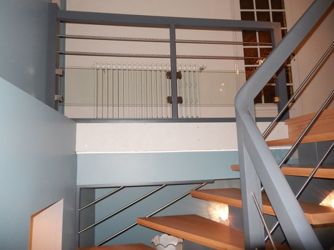 Balustrades d 39 tage s lection de travaux de menuiserie for Hauteur balustrade